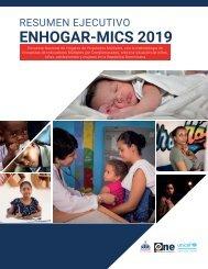 Encuesta ENHOGAR-MICS 2019 - Publicación
