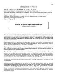 Travaux rentrée Angleur Chênée - 2021 08 31