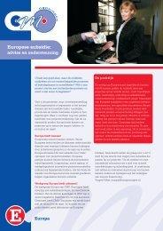 Europese subsidie: advies en ondersteuning - CMO Groningen