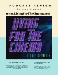 Living for the cinema - A podcast review