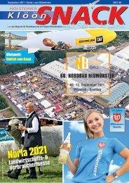Holsteiner KlöönSNACK - Ausgabe Rendsburg - September2021