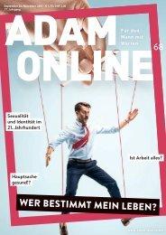 Adam online Nr. 68 Kurzversion