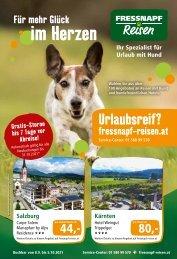 Fressnapf Reisen Flugblatt 09/ 2021