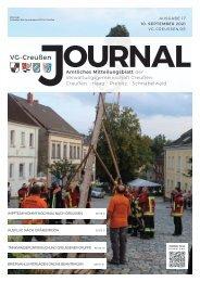 Creußen Jouranl - Ausgabe 10.09.2021