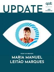 Point of Preview com Maria Manuel Leitão Marques