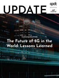 Talkommunications - The Future of 5G in the World: Lessons Learned