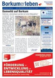 08.09.2021 / Borkumerleben - Die wöchentliche Inselzeitung