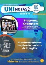 Revista Uninotas Edición 70