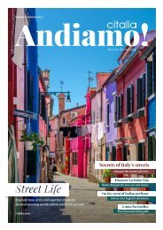 Andiamo! | Citalia Magazine Autumn 2021