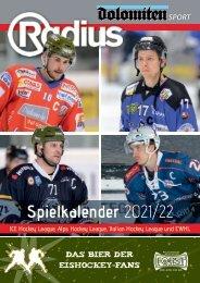Eishockey Spielkalender 2021/22