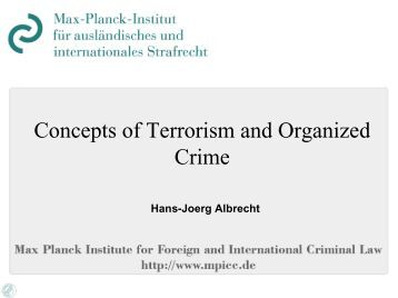 concepts of organized crime Commit a criminal violation, helps to describe the operation of criminal groups such as organized crime investigators must understand the concept of conspiracy and be able to apply the conspiracy statutes to effectively address organized crime two other laws that help to define organized crime activities are the continuing.