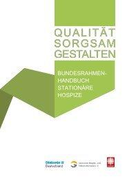 Qualitätsrahmenhandbuch Stationäre Hospize