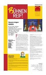 Bühnenreif - Sep. 2021 - Ausgabe KR