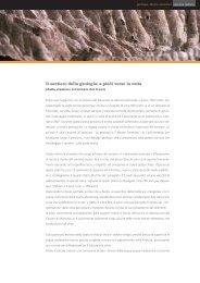 Il sentiero della geologia: a piedi verso la vetta - Monte Generoso