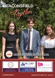 Beaconsfield Together - September / October  2021 Issue