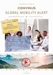 CONVINUS Global Mobility Alert Week 36