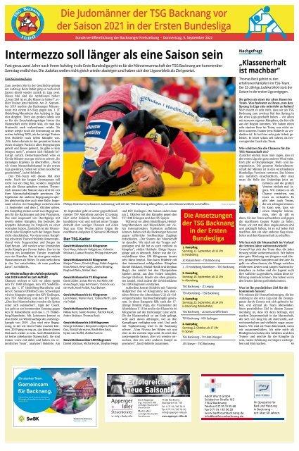 Judo TSG Backnang