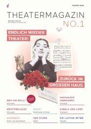 Trier Theatermagazin Nr. 1