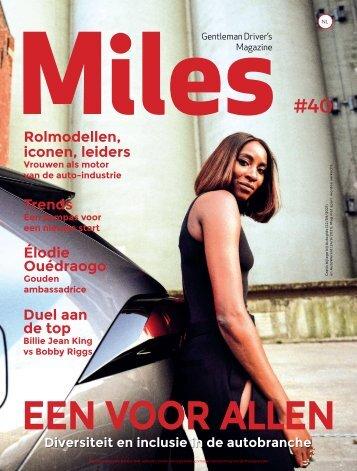 Miles #40 - EEN VOOR ALLEN