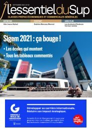 L'Essentiel Prépas n°52 - Septembre 2021