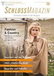 SchlossMagazin Augsburg Nordschwaben + Fünfseenland September + Oktober 2021