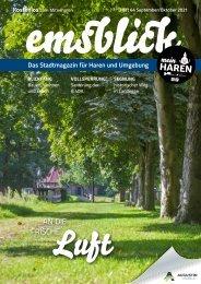 Emsblick Haren - Heft 64 (September/Oktober 2021)