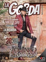 La Gorda Magazine Año 2 Edición Número 20 Julio 2016 Portada: Jovanko Ibarra