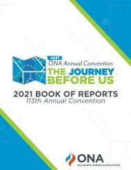 2021 Oklahoma Book of Reports
