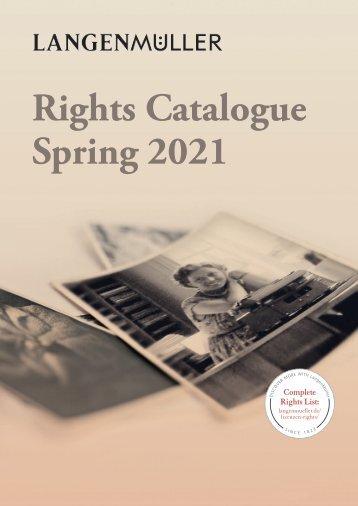Langenmueller   Rights Catalogue   Spring 2021