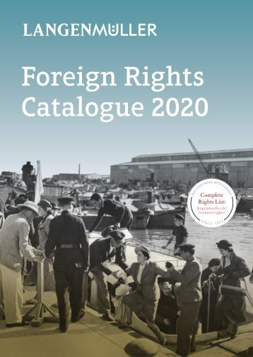 Langenmüller   Foreign Rights Catalogue   2020