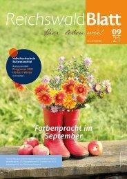 Reichswaldblatt - September 2021