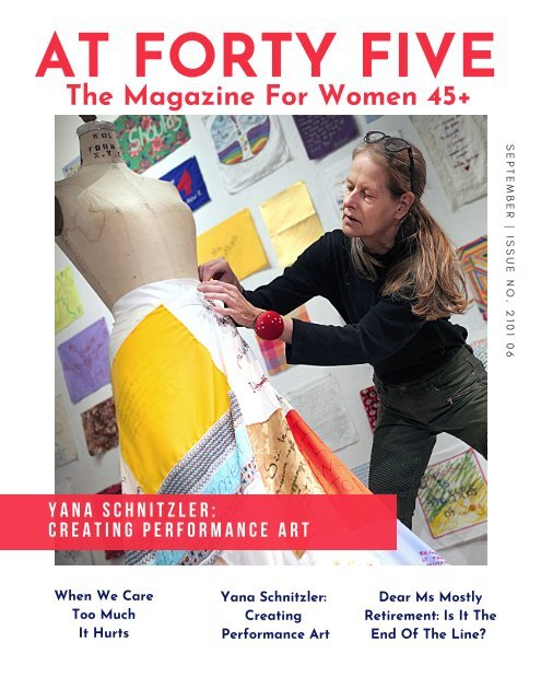 Find Freedom From What Does Not Serve You AT FORTY FIVE Magazine Issue 2101 06