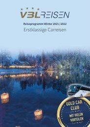Reiseprogramm Winter 2021 / 2022
