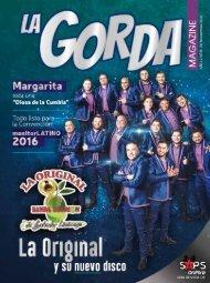 La Gorda Magazine Año 2 Edición Número 24 Noviembre 2016 Portada: La Original Banda El Limón