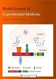 World Journal of Experimental Medicine