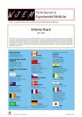 World Journal of Experimental Medicine - Page 2