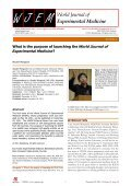 World Journal of Experimental Medicine - Page 6
