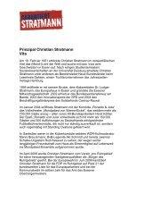 Vita Christian Stratmann - Mondpalast