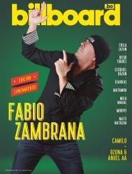 Billboard Bolivia N1 Septiembre 2021