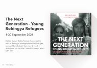The Next Generation - Young Rohingya Refugees
