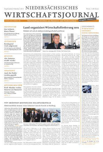 hannover - NWJ | Entscheider, Unternehmer, Mittelstand erreichen!