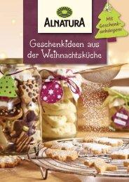 Geschenkideen aus der Weihnachtsküche