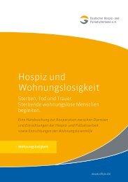 Hospiz- und Wohnungslosigkeit