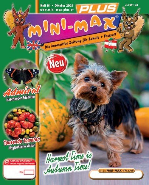 MINI-MAX-PLUS Oktober 2021