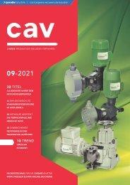 cav – Prozesstechnik für die Chemieindustrie 09.2021