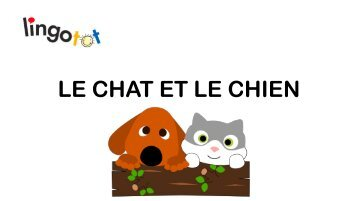 The Cat and the Dog.French.Yoga Lesson ppt