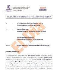 Operación Falcón-solicitud medida de coerción