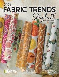 2021 Fabric Trends Shoptalk - Fall Market Edition