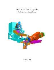 Hall A 12 GeV Upgrade - Jefferson Lab