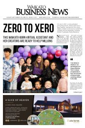 Waikato Business News August/September 2021